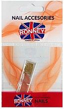 Voňavky, Parfémy, kozmetika Bujóny pre zdobenie nechtov, 00381, zlatý - Ronney Professional Decoration For Nails