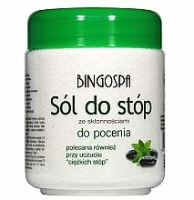 Voňavky, Parfémy, kozmetika Soľ pre nohy náchylné k poteniu - BingoSpa Salt For Feet