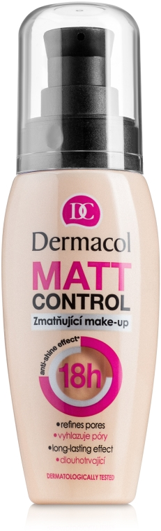 Zmatňujúci make-up - Dermacol Matt Control