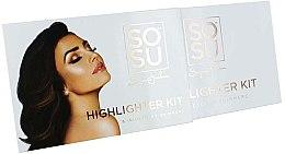 Paleta rozjasňovačov na tvár - Sosu by SJ Highlighter Kit — Obrázky N2