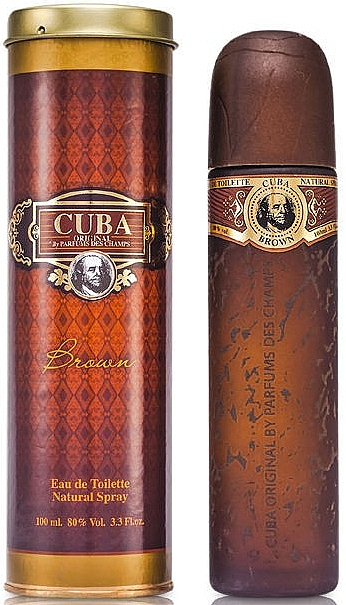 Cuba Brown - Toaletná voda