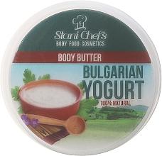 "Voňavky, Parfémy, kozmetika Olej na telo ""Bulharský jogurt"" - Hristina Stani Chef'S Bulgarian Yogurt Body Butter"