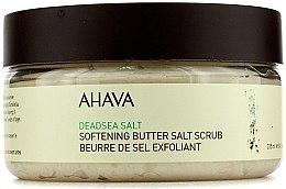 Voňavky, Parfémy, kozmetika Maslovo-soľný scrub na telo na báze soli z mŕtveho mora - Ahava Softening Butter Salt Scrub