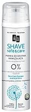 Voňavky, Parfémy, kozmetika Hydratačné pena na holenie - AA Shave Safe & Care