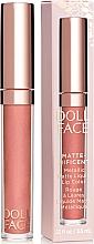 Voňavky, Parfémy, kozmetika Tekutý matný rúž - Doll Face Matte Metallic Liquid Lip Color