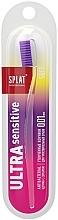 Voňavky, Parfémy, kozmetika Zubná kefka jemná, priehľadná fialová - Splat Ultra Sensitive Soft