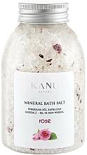 """Voňavky, Parfémy, kozmetika Minerálna soľ do kúpeľa """"Ruža"""" - Kanu Nature Rose Mineral Bath Salt"""