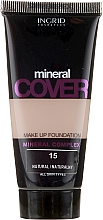 Voňavky, Parfémy, kozmetika Make-up s minerálmi - Ingrid Cosmetics Mineral Cover Make Up Foundation