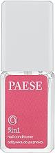 Voňavky, Parfémy, kozmetika Starostlivosť a liečba nechtov Spevňovač 5 v 1 - Paese Treatments 5 in 1