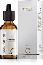 Voňavky, Parfémy, kozmetika Rozjasňujúce tvárové sérum s vitamínom C - Nanoil Face Serum Vitamin C