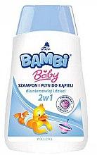 Voňavky, Parfémy, kozmetika Detský šampón a sprchový gél 2v1 - Pollena Savona Bambi 2in1 Shampoo & Shower Gel