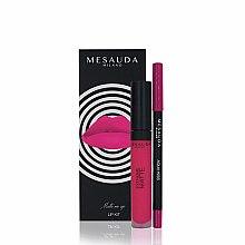 Voňavky, Parfémy, kozmetika Sada - Mesauda Milano Lip Kit (lipstick/7ml + lip pen/1.14g) (Donut)