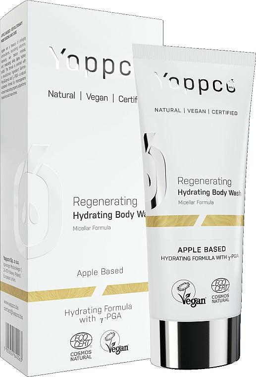 Regeneračný sprchový gél - Yappco Regenerating Hydrating Micellar Body Wash — Obrázky N1