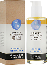"Organický masážny olej ""Levanduľa"" - Sonnet Lavender Massage Oil — Obrázky N1"