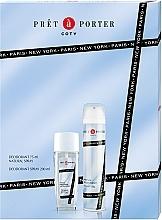 Voňavky, Parfémy, kozmetika Coty Pret-a-Porter - Sada (deo/spray/75ml+deo/200ml)