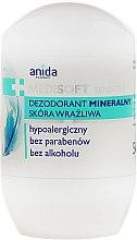 Voňavky, Parfémy, kozmetika Minerálny dezodorant - Anida Pharmacy Medisoft Mineral Deo