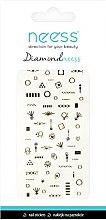 Voňavky, Parfémy, kozmetika Nálepky pre nechtový dizajn, 3709 - Neess Diamondneess