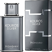 Voňavky, Parfémy, kozmetika Yves Saint Laurent Kouros Silver - Toaletná voda