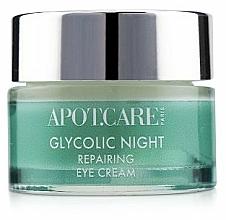 Voňavky, Parfémy, kozmetika Regeneračná nočný krém na viečka - APOT.CARE Glycolic Night Eye Cream