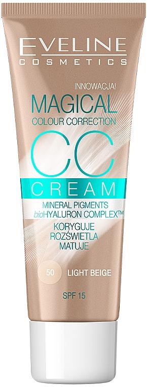 Tonálny krém - Eveline Cosmetics Magical CC Cream SPF15