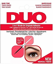 Voňavky, Parfémy, kozmetika Lepidlo na falošné mihalnice 2 v 1 - Ardell Duo Adhesive 2in1 Lash Brush On Clear&Dark