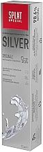 Antibakteriálna osviežujúca zubná pasta na jemné zosvetlenie skloviny - SPLAT Special Silver — Obrázky N5