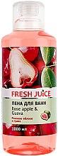 """Voňavky, Parfémy, kozmetika Kúpeľová pena """"Ružové jablko a guava"""" - Fresh Juice Rose Apple and Guava"""