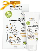 Voňavky, Parfémy, kozmetika Hypoalergénny ochranný krém - Momme Baby Natural Care All Weather Outdoor Cream SPF25