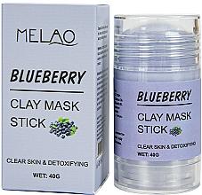 Voňavky, Parfémy, kozmetika Maska na tvár v tyčinke Blueberry - Melao Blueberry Clay Mask Stick