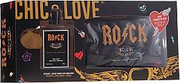 Voňavky, Parfémy, kozmetika Chic&Love Rock - Sada (edt / 100ml + vrecko)