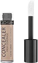 Voňavky, Parfémy, kozmetika Korektor - Gosh Concealer High Coverage