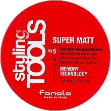 Voňavky, Parfémy, kozmetika Matná pasta extra silná fixácia - Fanola Tools Super Matt Paste
