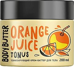 """Voňavky, Parfémy, kozmetika Tonizujúce krémové maslo na telo """"Pomaranč"""" - MonoLove Bio Orange Juice Body Butter"""