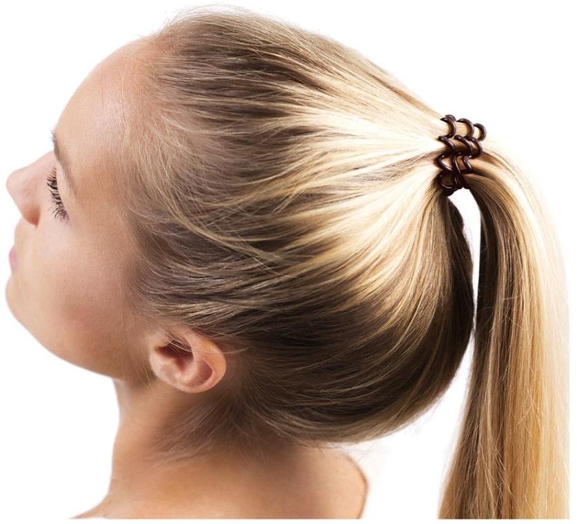 Gumička do vlasov - Invisibobble Chocolate Brown — Obrázky N4