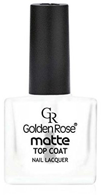 Matný lak na nechty - Golden Rose Matte Top Coat
