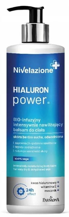 Intenzívne hydratačný telový balzam - Farmona Nivelazione Hyaluron Power Body Balm