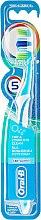 Voňavky, Parfémy, kozmetika Zubná kefka, azúrová - Oral-B Complete 5 Ways Clean 40 Medium