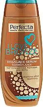 Voňavky, Parfémy, kozmetika Bronzujúci sérum na telo - Perfecta I Love Bronze Serum
