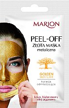 Voňavky, Parfémy, kozmetika Maska na tvár - Marion Golden Skin Care Peel-Off Mask