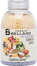 """Voňavky, Parfémy, kozmetika Zjemňujúce guľôčky do kúpeľa """"Tropické ovocie"""" - Fergio Bellaro Tropical Cocktail Bath Caviar"""