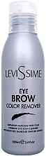 Voňavky, Parfémy, kozmetika Čistiaci prípravok na farbivá - LeviSsime Eye Brow Color Remover