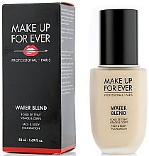 Voňavky, Parfémy, kozmetika Make-up - Make Up For Ever Water Blend Foundation