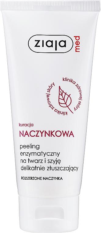 Enzymatický peeling tváre - Ziaja Med Peeling Enzymatic — Obrázky N1
