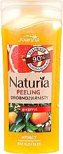 """Voňavky, Parfémy, kozmetika Sprchový peeling jemnozrnný """"Grapefruit"""" - Joanna Naturia Peeling"""