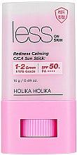 Voňavky, Parfémy, kozmetika Ochranná opašovacia tyčinka - Holika Holika Less on Skin Redness Calming CICA Sun Stick SPF50+