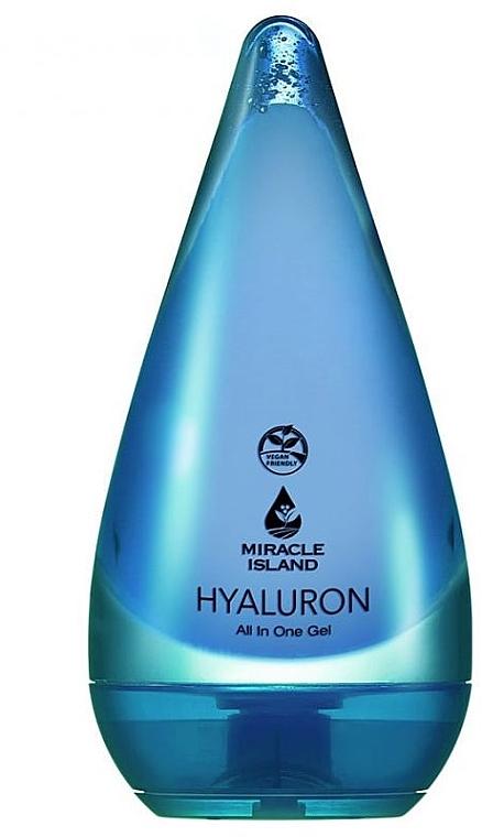 Gél s kyselinou hyalurónovou na tvár a telo - Miracle Island