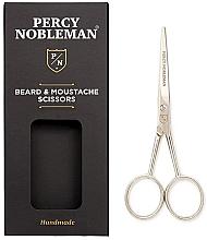 Voňavky, Parfémy, kozmetika Nožnice na bradu a fúzy - Percy Nobleman Beard & Moustache Scissors