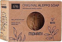 Voňavky, Parfémy, kozmetika Olivovo-vavrínové mydlo, 6% - Mohani