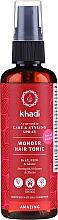Voňavky, Parfémy, kozmetika Tonikum na vlasy na báze cenných ajurvédskych liečivých bylín - Khadi Wonder Hair Tonic