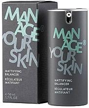 Voňavky, Parfémy, kozmetika Zmatňujúci fluid na tvár - Dr. Spiller Manage Your Skin Mattifying Balancer